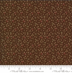 MODA FABRICS - Elinores Endeavor by Betsy Chutchian - Chocolate
