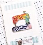 Stitch Happens Enamel Pin by Kelli Fannin Quilt Designs