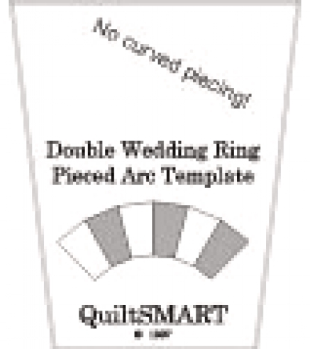 TEMPLATE for Double Wedding Ring Pieced Arcs - Quilt in a Day ...