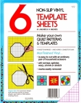Collins - Set of 6 Non-Slip Vinyl Template Sheets