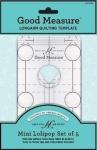 Good Measure - Mini Lollipop 5 pc Longarm Quilting Templates by Amanda Murphy