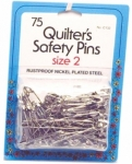 Collins Quilters Safety Pins Size 2