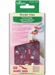 Clover Wonder Clips - Red - 50 count
