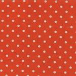 MODA FABRICS - Linen Mochi Dot - Tangerine