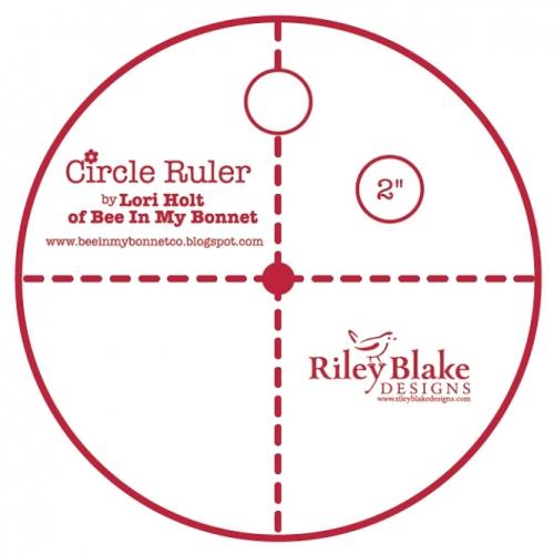 Lori Holt 2 Inch Circle Ruler