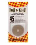 Roll the Gold Titanium 45mm Rotary Blades 2 ct