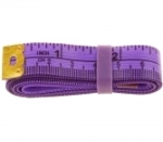 Jelly Tape Measure - Purple