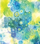 MODA FABRICS - Gradients II - Splash Watercolor Garden