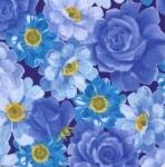MODA FABRICS - Summer Breeze VI - Navy Large Floral