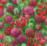 MODA FABRICS - Wildflowers IX - Petunia Bouquet