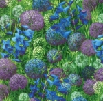 MODA FABRICS - Wildflowers IX - Bluebell Bouquet