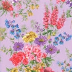 MODA FABRICS - Wildflowers IX - Lilac Tossed