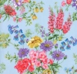 MODA FABRICS - Wildflowers IX - Bluebell Tossed