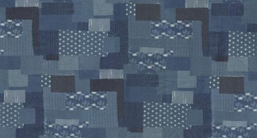 MODA FABRICS - Boro - Vintage Blue