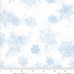 MODA FABRICS - Forest Frost Glitter Favorites - Icicle
