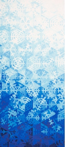 MODA FABRICS - Gradients Holiday - Ice