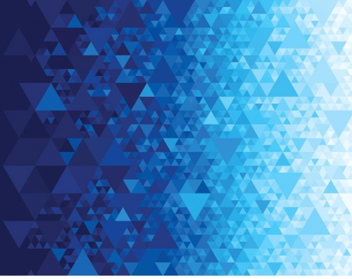 MODA FABRICS - Gradients Kaleidoscope - Dig Blue