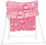 Clearance - Fold & Go Tablet Stand Pink Rain - White Wire