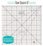 Sew Square 8 inch Ruler by Sew Kind of Wonderful