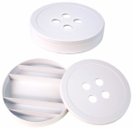 Clearance -Betsy Button Box White