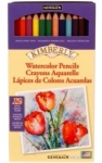 Kimberly Watercolor Pencil Set 12 Assorted Colors