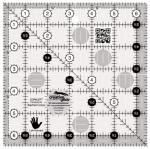 Creative Grids LEFT Handed Quilt Ruler 6.5 inch Square CGR6LEFT