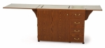Arrow Norma Jean Sewing Cabinet - Oak Drop Ship