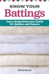 Know Your Battings: Carry-along Reference Guide for Quilters and Sewers by Krista Moser