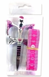 Cat Scissor / 60 inch Tape Measure - Pink