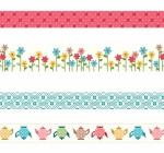 Granny Chic Washi Tape by Riley Blake Designs