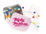 Nifty Notions Flower Head Pins 2 inch 100ct