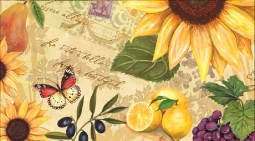 2 Year Pocket Planner Sunflower & Fruit 2021/2022