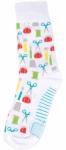 Sock - Sewing Notions White Socks by Moda Fun Stuff