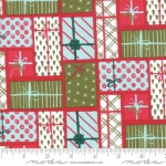 MODA FABRICS - To Be Jolly - Berry - Presents