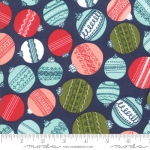 MODA FABRICS - To Be Jolly - Midnight - Ornaments