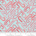MODA FABRICS - To Be Jolly - Frosty- Candy Cane