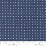 MODA FABRICS - To Be Jolly - Midnight - Blue