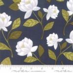 MODA FABRICS - Goldenrod - Raleigh Floral - Navy