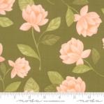 MODA FABRICS - Goldenrod - Raleigh Floral - Olive