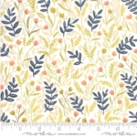 MODA FABRICS - Goldenrod - Meadow Floral - White