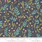 MODA FABRICS - Goldenrod - Meadow Floral - Navy