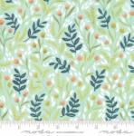MODA FABRICS - Goldenrod - Meadow Floral - Aqua