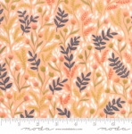 MODA FABRICS - Goldenrod - Meadow Floral - Coral