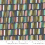 MODA FABRICS - Goldenrod - Paintbrush - Navy