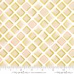 MODA FABRICS - Goldenrod - Tiles - Bisque White