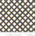 MODA FABRICS - Goldenrod - Tiles - Navy