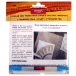 Bohin Transfer Veils 3ct with Water Soluble Pen