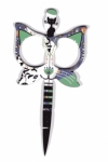 Purple/Mint Cat Scissors