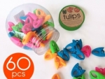 Jar of Tulips Bobbin Clamps - 60 Pieces by SmartNeedle