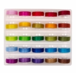 Prewound Super Bobs BRIGHT Colors Set L-Style